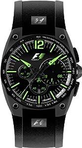 Reloj de caballero JACQUES LEMANS Formula 1 F-5011J de cuarzo, correa de caucho color negro de Jacques Lemans