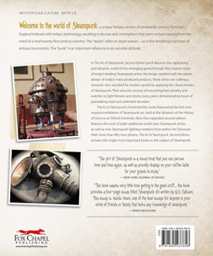 Art of Steampunk, Rev 2nd Edn: Extraordinary Devices and Ingenious Contraptions from the Leading Artists of the Steampunk Movement