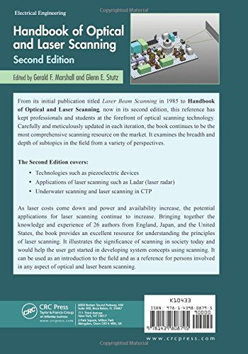 Handbook of Optical and Laser Scanning (Optical Science and Engineering)
