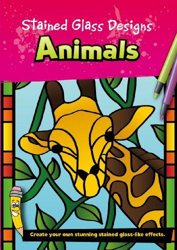 Gebeizt Art-glas-fenster (Unbekannt gebeizt Glas Designs Tiere)