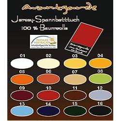WASSERBETT / BOXSPRINGBETT - SPANNBETTLAKEN / SPANNBETTTUCH - EXTRA HOHER STEG - 90x200 bis 100x220 - Nr. 01 weiss - 100% FEINSTE MAKO-BAUMWOLLE - SEHR GUTE 165 gr/m²
