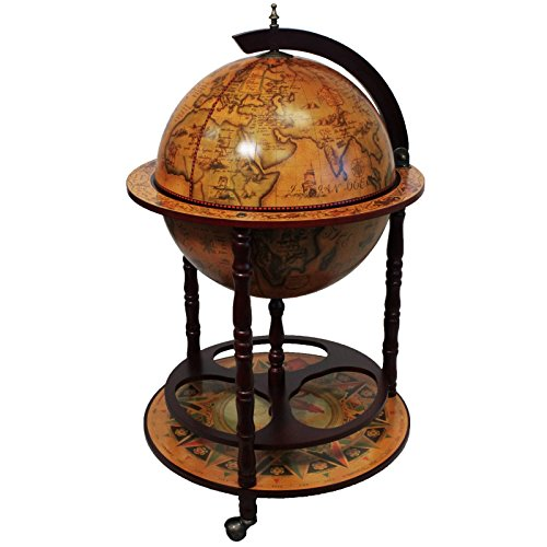 Antik Reproduktion sixteenth-century Italienisches Old World Globe Bar