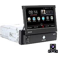 Android Autoradio 1 Din GPS CAMECHO 7 Pouces Flip Out Écran Tactile capacitif Bluetooth FM Radio WiFi La Navigation Lien…