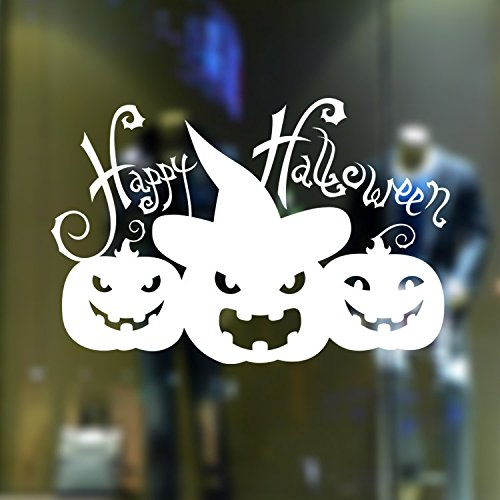 [usa-sales] Halloween Fenster/Wand klammert sich an Auswahl, Kürbis Kopf, Happy Halloween Sticker, by usa-sales Verkäufer