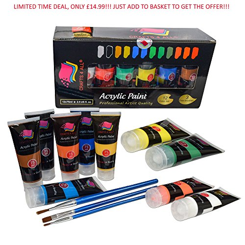 Tlcharger Epub Acrylic Paint Studio Paints Set 12 Extra Large 75