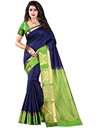 Nirja Creation Multi Color Traditional Fancy Party wear Cotton Silk Saree (6 Color)