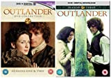 Outlander Season 1-3 Complete DVD Collection + Bonus features + Deleted & Extended Scenes + Gag Reel + Podcasts + The Transformation of Geillis Duncan + A Travelling Show Takes Sail featurette