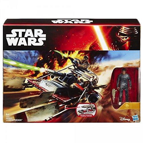 Finn Jakku Wüsten Landspeeder - Star Wars Spielzeug Spielset - Force Awakens Actionfigur Fahrzeug