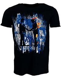 Pink Floyd Wish You Were Here Painting Tshirt Schwarz Offiziell Zugelassen Musik