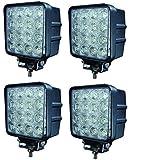 Aikar 4 x 48W LED luz de trabajo Faro Coche Moto luces antiniebla Focos Lampara ATV SUV 4WD( 48wa4)