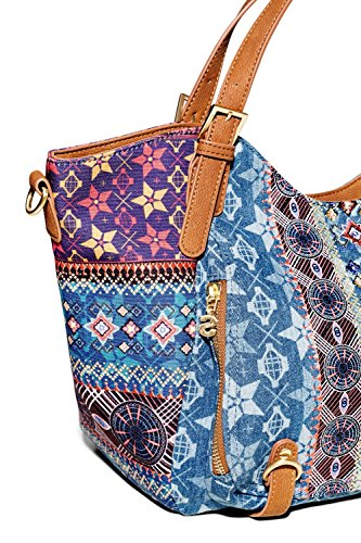 Desigual BOLS Mystic Rotterdam Henkeltasche Jeans