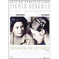 Sonata De Otoño DVD 1978 Ed. Especial con  Libreto Höstsonaten