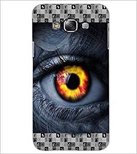 PrintDhaba Eye D-3615 Back Case Cover for SAMSUNG GALAXY GRAND 3 (Multi-Coloured)