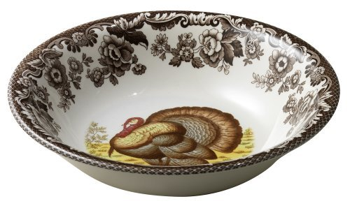 Spode Woodland Turkey (Spode Woodland Turkey Cereal Bowl by Spode)