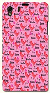 Prominent multicolor printed protective REBEL mobile back cover for Sony Xperia Z1 C6902/L39h D.No.N-R-6518-S39