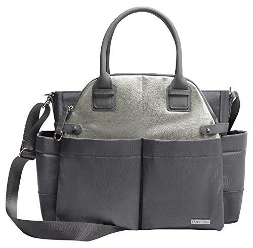 Skip Hop 200452 Diaper Bag Chelsea Grey - Wickeltasche, grau -