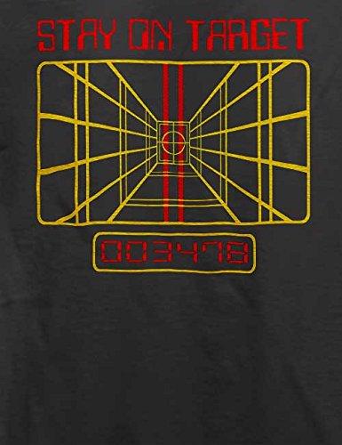 Stay On Target T-Shirt Grau