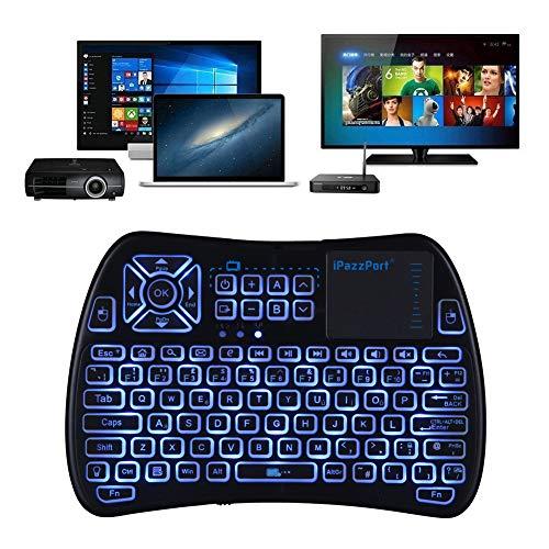 2018 +TV Remote) iPazzPort RGB Backlit Mini Wireless