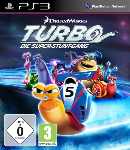 Turbo - Die Super - Stunt - Gang - [PlayStation 3]