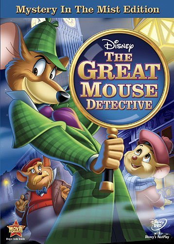 The Great Mouse Detective (Mystery in the Mist Edition) by Vincent Price (Great Detective Mouse Dvd)