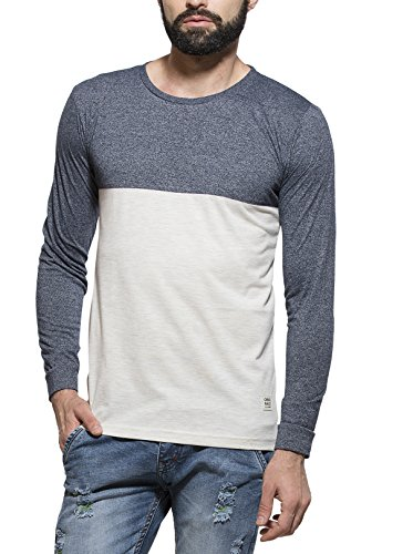 Alan Jones Solid Cotton Full Sleeves Tshirt