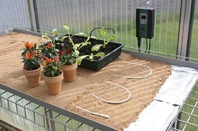 Bio Green Aufzuchtartikel Bodenheizkabel, weiß von Bio Green auf Heizstrahler Onlineshop