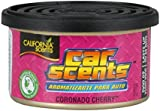 California Scents CCS-407TR Coronado Cherry Car Air Freshener, Pack of 4, Long Lasting Fruity Fragrance, Environmentally Friendly, Light Weight Organic Product, Pack of 4 Canisters, Adjustable Vented Lid