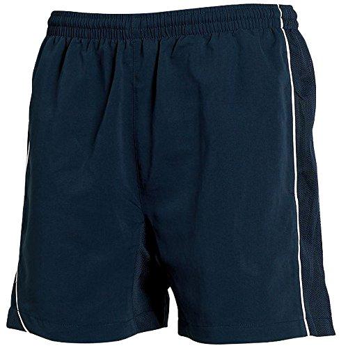 Tombo Teamsport -  Pantaloncini  - Uomo Navy/ Navy/ White Piping