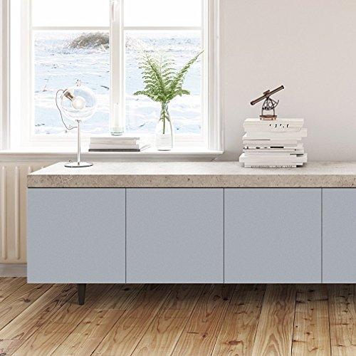 KINLO Carta per mobili Adesiva 5*0.61M Adesivo per Cucina PVC Carta da  parati Waterproof Sticker Furniture Impermeabile Rinnovato Cucina Bagno  Camera ...