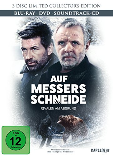 Auf Messers Schneide - Rivalen am Abgrund - DVD, Blu-Ray + Soundtrack-CD (Limited Collector's Edition) [Blu-ray]