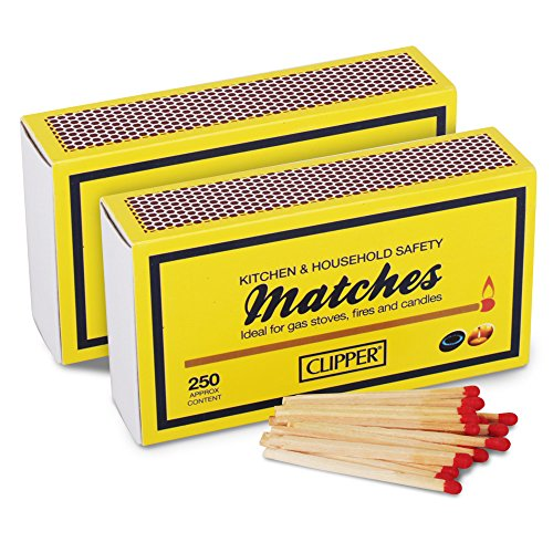 2-boxes-of-clipper-long-household-matches-55mm-250-box-ideal-for-bbqs-open-fires-candles-comes-with-
