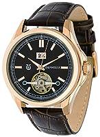 ORPHELIA–Royal–Reloj de pulsera analógico automático para hombre piel sintética