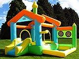 BeBop Bounce House Castillo Hinchable para Niños con Tobogán