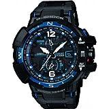 Casio - GW-A1100FC-1AER - Montre Homme - Quartz Digitale - Radio/Solaire/Boussole/Alarme - Bracelet Résine Noir