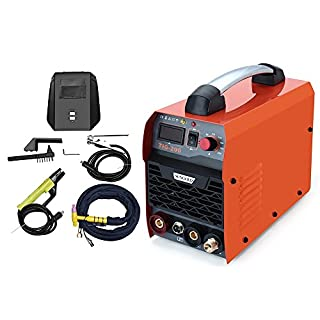 Gomistar 200Amp TIG ARC MMA Stick DC IGBT Inverter Welder System Digital LED Display Welding Machine 220V 230V 240V with HF Start Complete Package