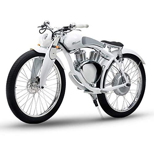 FUNBYKE Munro Bicicleta de Montaña Eléctrica Motocicleta E-Bike 48V 800W 50KM/H para Adultos, Estilo Retro, Batería de Litio Extraíble Energía...