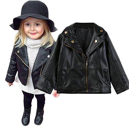 5bc553075d14 Leather outwear the best Amazon price in SaveMoney.es