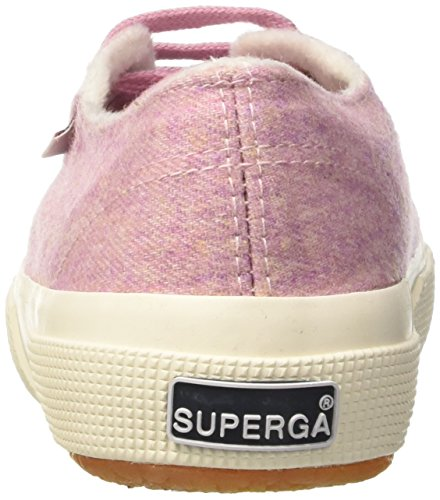 Superga Unisex-Erwachsene 2750-Woolmelangeu Pumps Rosa