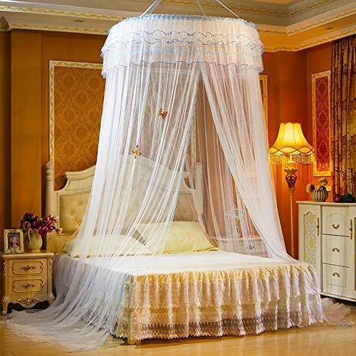 Mückennetz Insektenabwehr Eckig Inklusive Klebehaken Für Reise Und Zuhause - Extra-Groß Für Doppelbett & Einzelbett, Betthimmel,White ()