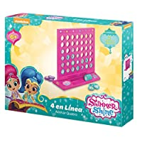 Shimmer and Shine 2632 4 in a Row Game
