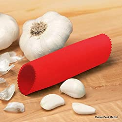 Garlic Peeler 1 RANDOM COLOR Rubber (Silicone)Garlic Peeler Roller.