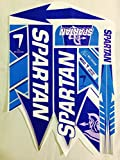 #5: Om Enterprises Spartan MSD 7 Limited Edition Cricket Bat Sticker