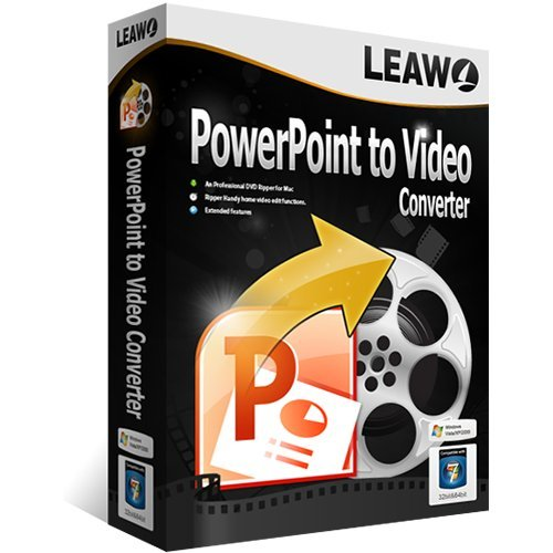 Leawo PowerPoint to Video Converter Vollversion (Product Keycard ohne Datenträger) (Converter Video Powerpoint To)