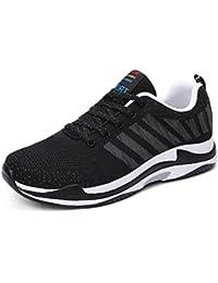 GLSHI 2018 Nuovi amanti Scarpe Fondo spesso Primavera Autunno Scarpe da corsa Unisex Knit Sneakers Scarpe da ginnastica da uomo (Colore : UN, Dimensione : 42)
