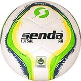 Senda Rio Club Futsal Palla da Calcio, Fair Trade Certified, Green/Yellow