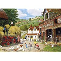 Gibsons Tea at The Farm, Puzzle da 500 pezzi [importato da (Tempo Tazza Di Corsa Tazza)