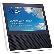 Echo Show, Smart speaker and 7-inch screen with Alexa - White