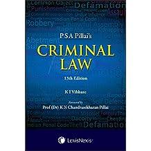 P S A Pillai's Criminal Law