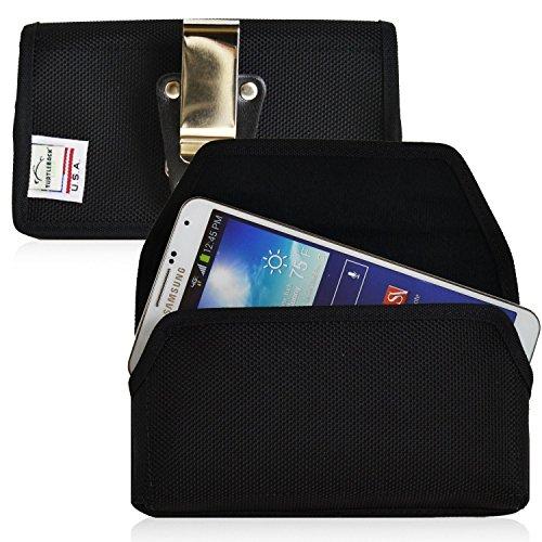 Turtleback Ballistic Nylon Tasche mit drehbarem Gürtelclip für Samsung Galaxy S3 III mit Ballistic/Otterbox - Magnetverschluss - Made in USA -