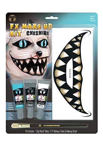 Grinsekatze Make-Up Spezialeffekt-Schmink-Set ()